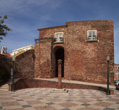 Silves city gate Stock Photo