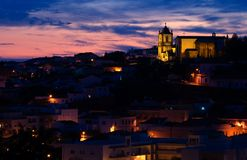 Silves by Dusk Stock Photography