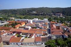 Silves the old Moorish capital of Algarve Stock Photos