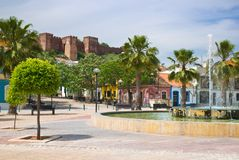 Silves Plaza Stock Image