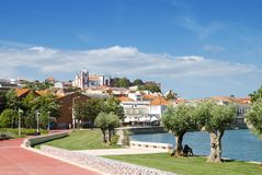 Silves Town In Algarve Royalty Free Stock Photos