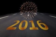 Silvester 2016 Fotografía de archivo libre de regalías