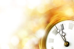 Silvester clock Royalty Free Stock Photo