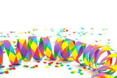 Silvester decoration. Party decoration. All on white background Royalty Free Stock Image