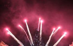 Silvester 2015 in KoÅ-¡ Eis Lizenzfreie Stockfotos