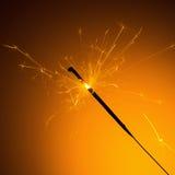 Silvester sparkler Royalty Free Stock Image
