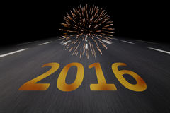 Silvester 2016 Royalty Free Stock Photography