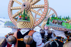Silvesterklaus, ιουλιανό νέο έτος, Appenzell, Ελβετία Στοκ φωτογραφίες με δικαίωμα ελεύθερης χρήσης