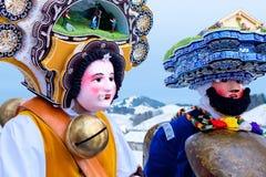 Silvesterklaus, ιουλιανό νέο έτος, Appenzell, Ελβετία Στοκ εικόνα με δικαίωμα ελεύθερης χρήσης