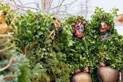Silvesterklaus, ιουλιανό νέο έτος, Appenzell, Ελβετία Στοκ φωτογραφία με δικαίωμα ελεύθερης χρήσης