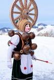 Silvesterklaus, Julian New Year, Appenzell, Suiza Fotografía de archivo
