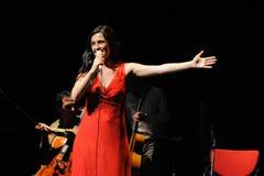Silvia Perez Cruz band performs at Barts (Barcelona Arts on Stage) Royalty Free Stock Photo