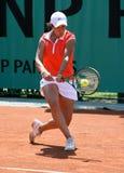 Silvia SOLER ESPINOSA (ESP) at Roland Garros 2010 Stock Image
