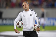 Silvino Louro, assistant first team coach of Chelsea Royalty Free Stock Image