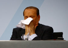 Silvio Berlusconi Royalty Free Stock Photo