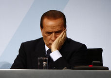 Silvio Berlusconi. File image of 2009 Royalty Free Stock Photos