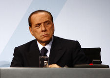 Silvio Berlusconi. File image of 2009 Stock Photo