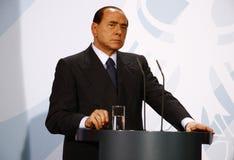 Silvio Berlusconi Zdjęcia Royalty Free