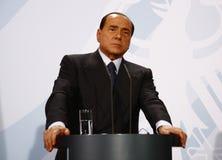 Silvio Berlusconi Royaltyfria Foton