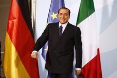Silvio Berlusconi Zdjęcie Royalty Free