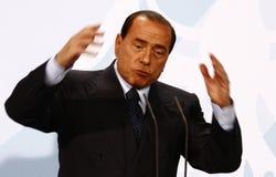 Silvio Berlusconi imagenes de archivo