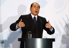 Silvio Berlusconi imagen de archivo libre de regalías