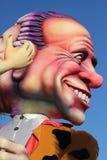 Silvio Berlusconi - karneval av Nice Arkivfoto