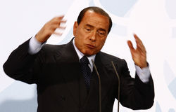Silvio Berlusconi Stock Images