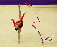 Silviya Miteva no copo de Deriugina Imagens de Stock Royalty Free