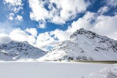 Silvretta湖 库存照片