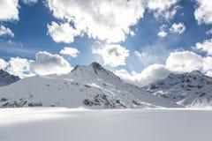 Silvretta湖 库存图片