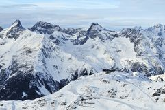 Silvretta Alps Royalty Free Stock Photo