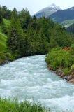 Silvretta Alps summer view, Austria Royalty Free Stock Photo