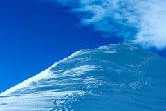 Silvretta Alps winter view (Austria). Royalty Free Stock Photos