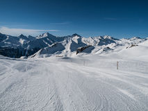Silvretta arena ski resort Stock Photo