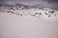 Silvretta (die Schweiz) lizenzfreies stockfoto