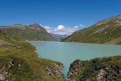 Silvretta sjö Royaltyfria Foton