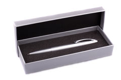silvrig blyertspenna Royaltyfri Bild