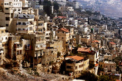 Silwan Arab neighborhood in Jerusalem Royalty Free Stock Photography