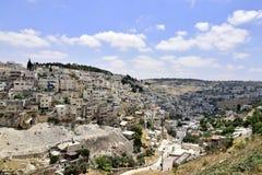 Silwan district of East Jerusalem, Royalty Free Stock Photo