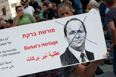 Silwan Protest Royalty Free Stock Image