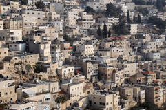 Silwan Village Stock Photography