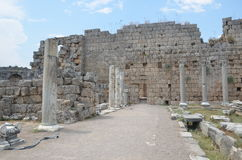 Silyon ancient city, antalya, turkey Royalty Free Stock Photography