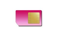sim карточки Стоковая Фотография RF