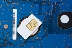 sim карточки Стоковое фото RF