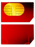 Sim card Royalty Free Stock Photos