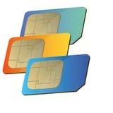 Sim card Stock Photography