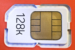 Sim card. A brand new sim card Royalty Free Stock Images