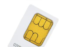 Sim-card Royalty Free Stock Image