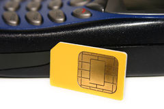 A SIM Card Royalty Free Stock Image